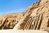 Egypt, abu simbel rock temples — Stock Photo