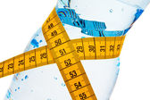 Mineral water. icon fã ¼ r weight loss — Stock Photo