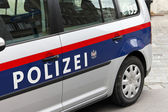 Austrian police car — Stock Photo