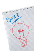 Idea of ??innovation and creativity — Foto Stock
