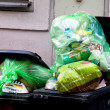 Separation of waste collection point for plastic w — Stock Photo #8330119