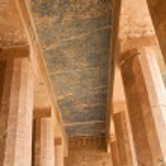 Egypt, western thebes, hatshepsut temple — Stock Photo