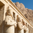 Egypt, western thebes, hatshepsut temple — Stock Photo