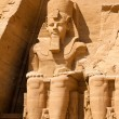 Egypt, abu simbel rock temples - Stock Photo