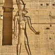 Egypt, aswan, philae temple - Stock Photo