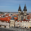 Prague, old town square, cityscape — Stock Photo