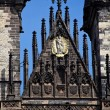 Prague, old town square tyn, church — Stock Photo #8338868