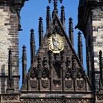 Prague, old town square tyn, church — Stock Photo