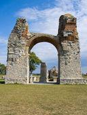 Heathens of ancient roman settlement carnuntum — Stock Photo