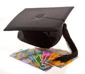 Hut und schweizer franken. ausbildung kosten. — Stockfoto