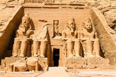 Egypt, abu simbel rock temples — Stock Photo