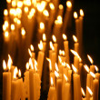 Candles in a church - Stock fotografie