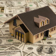 House on dollar bills — Stock Photo #8357723