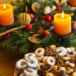 Stock Photo: Cookies and biscuits for christmas