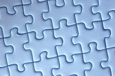 Abstract puzzle background — Stockfoto
