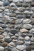 La pared de ladrillo de cerca para arriba — Foto de Stock