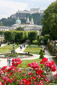 中心的奥地利城市萨尔茨堡 — 图库照片