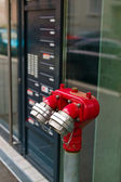 Hydrant - water supply — Stock Photo