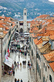 Croatia, dubrovnik, stradun — Stock Photo