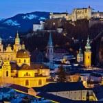 Salzburg, austria, cityscape — Stock Photo