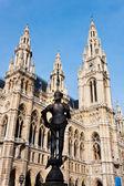 Vienna city hall — Stock Photo