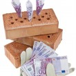 Stock Photo: Construction, financing, building society.