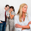 Stock Photo: Bullying in the workplace office