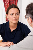 Grief counselling — Stock Photo