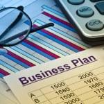 Business plan of a permanent establishment — Stock Photo #8715514
