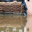 Floods in passau, germany — Stock Photo #8731967