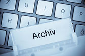 Hanging file archive — Stock Photo