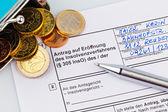 Bankruptcy germany — Stock Photo
