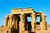 Egypt, kom ombo temple — Stock Photo
