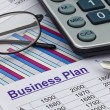 Business plan  — 图库照片