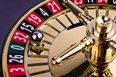 Válec hazardní ruleta hry — Stock fotografie