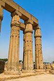 Egypt, luxor amun temple of luxor. — Stock Photo