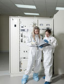 Radioactive laboratory — Stock Photo