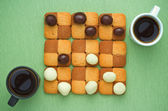 Sweet checkers — Stock Photo