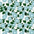Seamless floral pattern — Stock Vector #8502147
