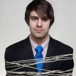 Tie up with string - Stock Photo