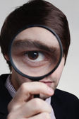 Magnifying glass — Photo