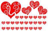 Aşk alfabesi — Stok Vektör