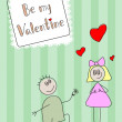 Vecteur: Be my Valentine