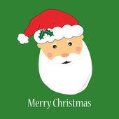 圣诞老人贺卡 — 图库矢量图片