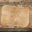 Aged papers on a wooden background - Foto de Stock  