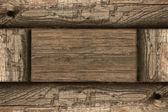 Damged fondo de madera antiguo — Foto de Stock