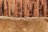 Résisté à la feuille de papier sur un fond en bois — Photo