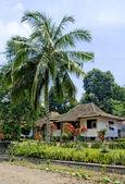 пляж дом в индонезии — Стоковое фото