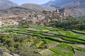 The village Bilad Sayt, sultanate Oman — Stock Photo