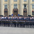Military Parade of Victory Day — Stock Photo